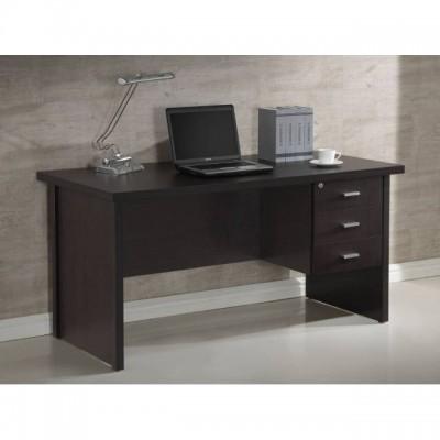 Mesa de despacho barata y robusta wengu - Mesas color wengue ...