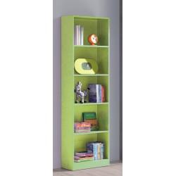 Estantería cinco estantes verde