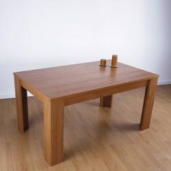 Mesa de comedor fija acabado maple