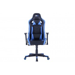 Sillón Giratorio y Reclinable Gamer Lux Negro / Azul