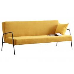 Sofá cama Vintage clic clac Mostaza