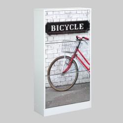 Zapatero diseño bicicleta