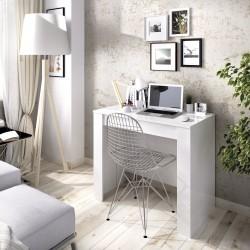 Mesa consola extensible Verona blanco brillo