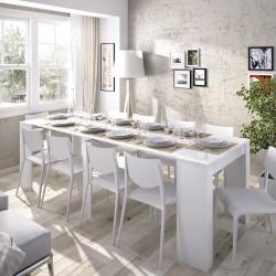 Mesa consola extensible Verona Blanco