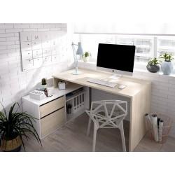 Mesa de oficina Dunia en L