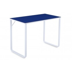 Mesa de estudio Mia Azul / Blanco