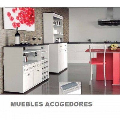 Muebles blanco y gris 20170903075257 for Mueble botellero ikea