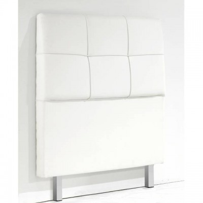 Cabecero barato tapizado para 90 cm en color blanco - Cabeceros de cama tapizados baratos ...