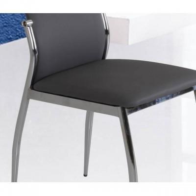 Silla de comedor gris ligera y elegante con buen precio 6 for Sillas comedor ligeras