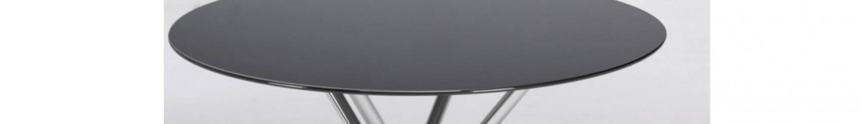 Mesas de cristal modernas