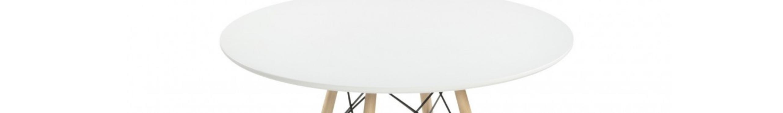Mesas redondas de diseño