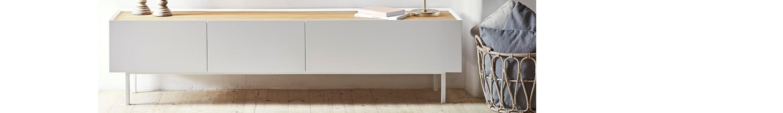 Muebles para televisión en salón y comedor