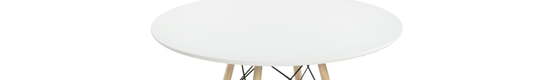Mesas de cocina fijas redondas