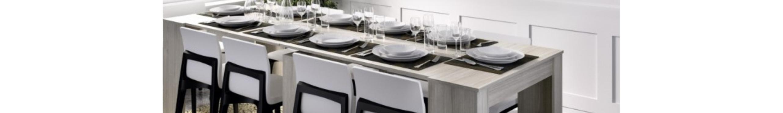 Mesas consola extensibles de diseño