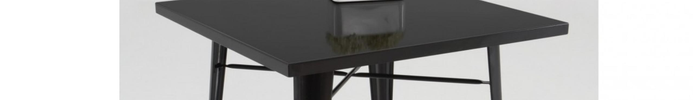 Mesas de metal modernas para cocina
